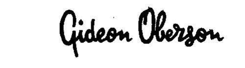 GIDEON OBERSON