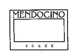 MENDOCINO CREEK