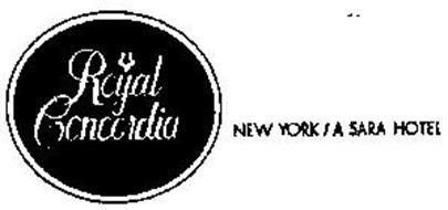 ROYAL CONCORDIA NEW YORK/A SARA HOTEL