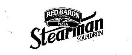 RED BARON PREMIUM PIZZA STEARMAN SQUADRON