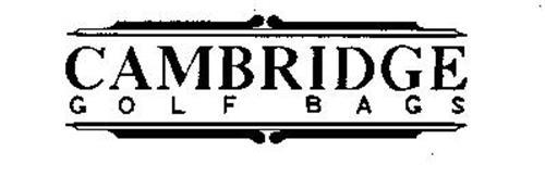 CAMBRIDGE GOLF BAGS