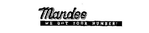 MANDEE WE GOT YOUR NUMBER!