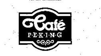 CAFE P-E-K-I-N-G
