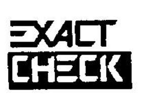 EXACTCHECK