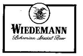 WIEDEMANN BOHEMIAN SPECIAL BEER W