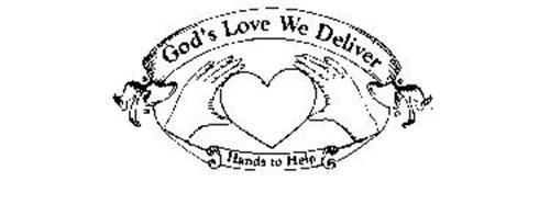 GOD'S LOVE WE DELIVER HANDS TO HELP