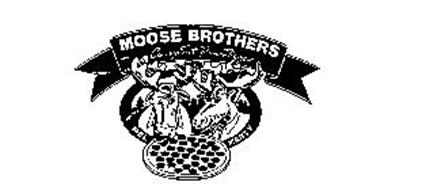 MOOSE BROTHERS CARRY OUT PAN PIZZA MEL MARTY