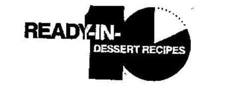 READY-IN-10 DESSERT RECIPES