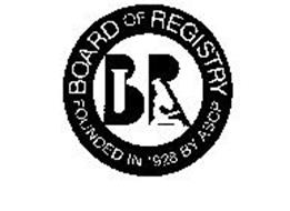 BOARD OF REGISTRY BR FOUNDED IN 1928 BYASCP