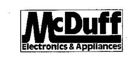 MCDUFF ELECTRONICS & APPLIANCES