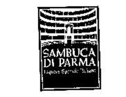 SAMBUCA DI PARMA LIQUORE SPECIALE ITALIANO TEATRO DI PARMA