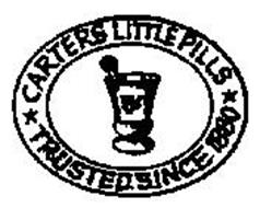 CARTERS LITTLE PILLS TRUSTED SINCE 1880