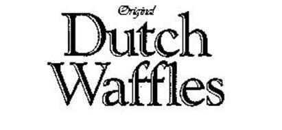 ORIGINAL DUTCH WAFFLES