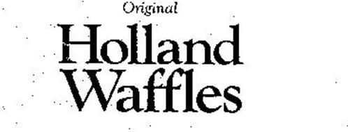 ORIGINAL HOLLAND WAFFLES