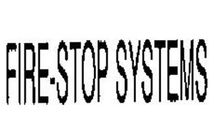 FIRE-STOP SYSTEMS