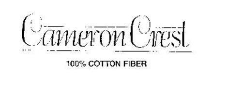 CAMERON CREST 100% COTTON FIBER