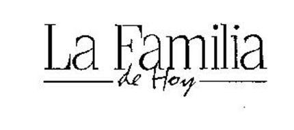 LA FAMILIA DE HOY