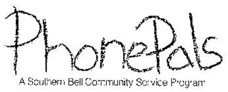 PHONEPALS A SOUTHERN BELL COMMUNITY SERVICE PROGRAM