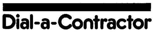 DIAL-A-CONTRACTOR