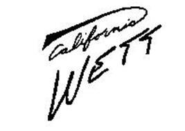 CALIFORNIA WETT