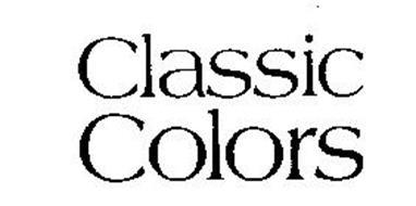 CLASSIC COLORS