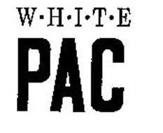 WHITE PAC