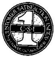 C.S.I. 1 CUSTOMER SATISFACTION INDEX J.D. POWER AND ASSOCIATES