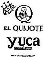 EL QUIJOTE YUCA CONGELADA FROZEN FRESH CASSAVA SYMBOL OF QUALITY SINCE 1964 AAA