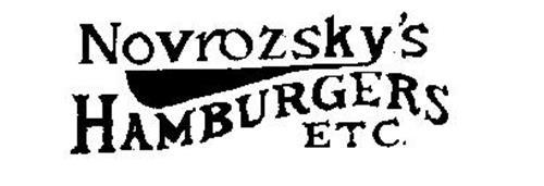 NOVROZSKY'S HAMBURGERS ETC.