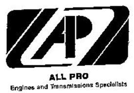 ALL PRO ENGINE AND TRANSMISSION