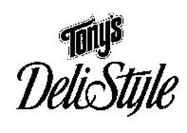 TONY'S DELISTYLE