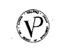VALPRO QUALITY - THE RESULT OF INTELLIGENT EFFORT VP