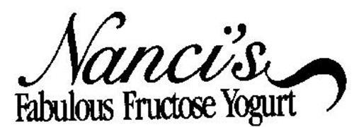 NANCI'S FABULOUS FRUCTOSE YOGURT