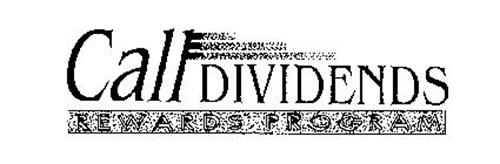 CALLDIVIDENDS REWARDS PROGRAM