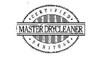 CERTIFIED SANITONE MASTER DRYCLEANER