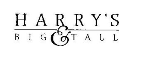 HARRY'S BIG & TALL
