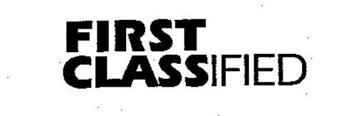 FIRST CLASSIFIED