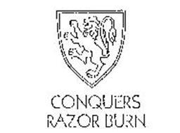 CONQUERS RAZOR BURN