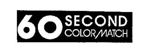 60 SECOND COLOR MATCH