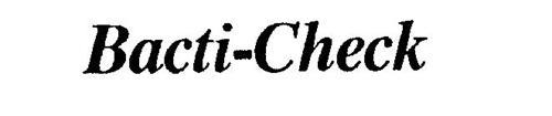 BACTI-CHECK
