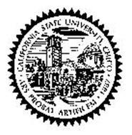 CALIFORNIA STATE UNIVERSITY, CHICO ARS PROBAT ARTIFICEM 1887