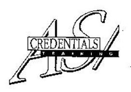 AS/CREDENTIALS TRAINING