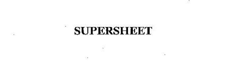 SUPERSHEET