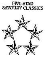 FIVE-STAR SAVOURY CLASSICS