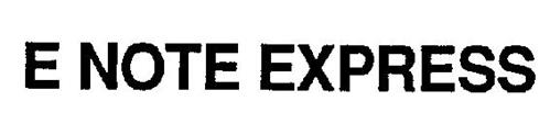 E NOTE EXPRESS