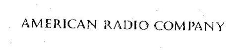 AMERICAN RADIO COMPANY