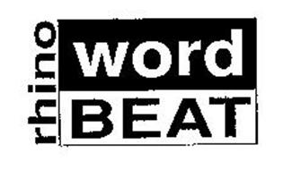 RHINO WORD BEAT
