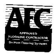 AFC APPROVED FLOORING CONTRACTOR DUPONT FLOORING SYSTEMS