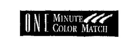 ONE MINUTE COLOR MATCH