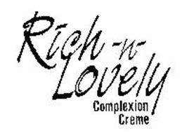 RICH-N-LOVELY COMPLEXION CREME
